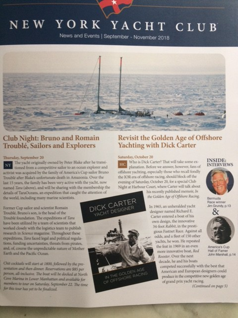 Dick Carter Yacht Designer – In the Golden Age of Offshore