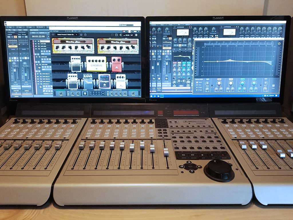 Mixing Board Dickie Fredericks Studio