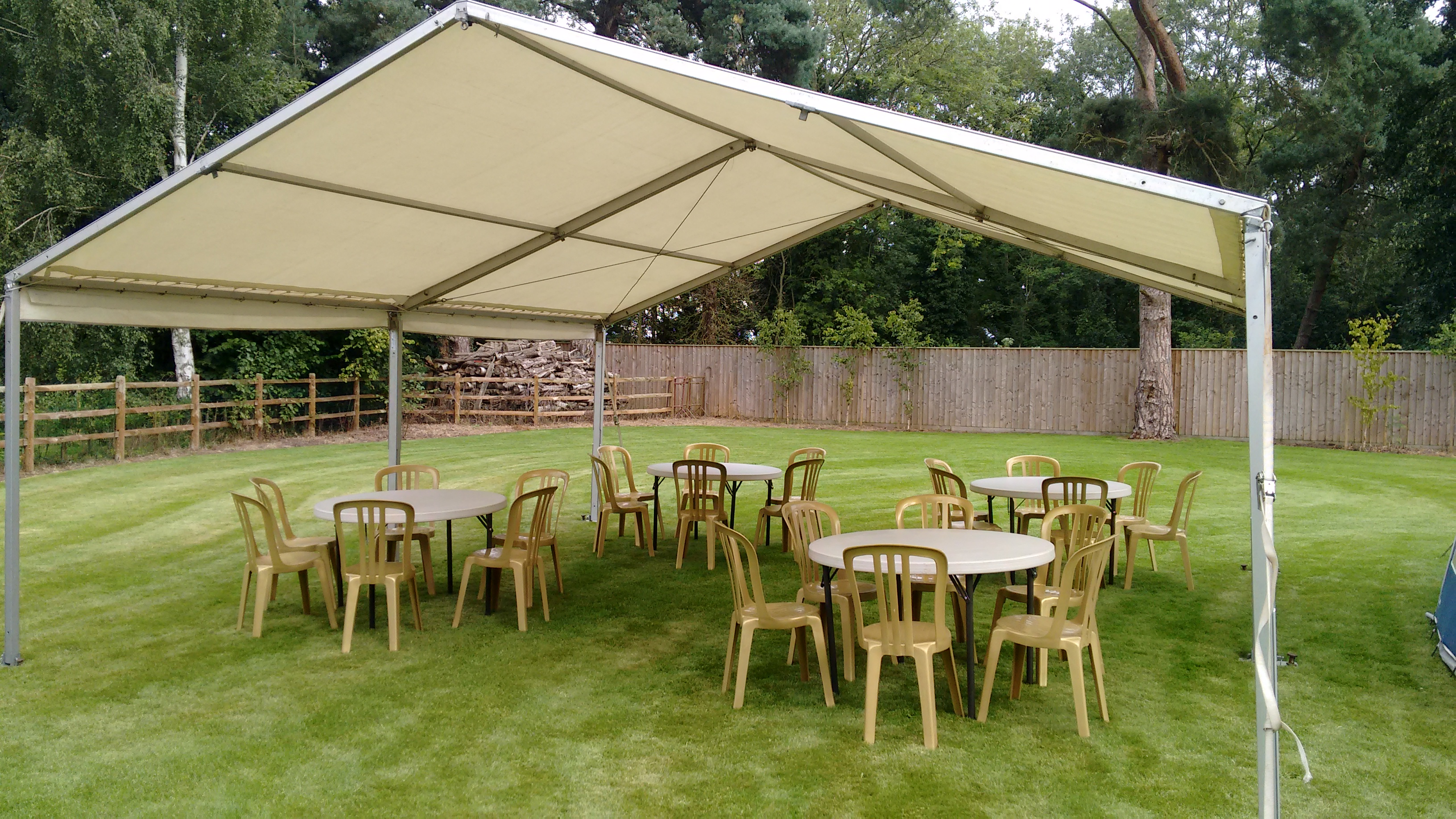 wedding chair cover hire kings lynn rentals tampa 6m x canopy dick ropa entertainments king 39s
