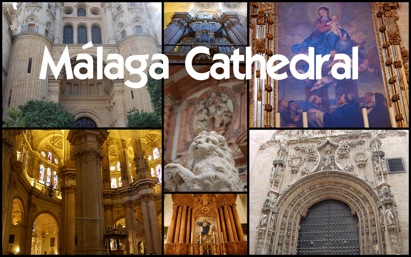 Cathedral of Malaga Spain