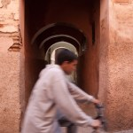 Bicycle Rider, Marrakech