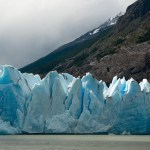 Blue Ice, Grey Glacier, Torres del Paine, Chile