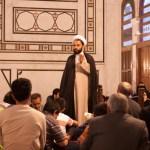 Imam Preaching, Umayyad Mosque, Damascus