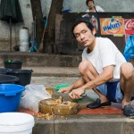 Fish Vendor, Bangkok