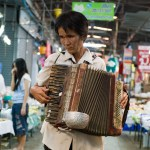 Accordian Player, Chiang Rai