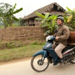 Motorcyclist with Cow, Bắc Quang