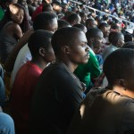 Football (or soccer as we Americans know it) is a national passion.  Amhoro Stadium in Kigali fills with both Hutus and Tutsis who are now focused on whether their team will win.