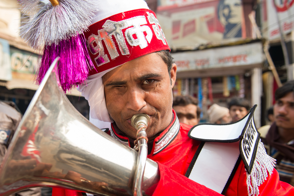 Horn Player, India