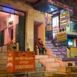 Donation box, Varanasi