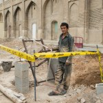 Construction worker, Shiraz