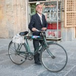 Bicyclist in Esfahan