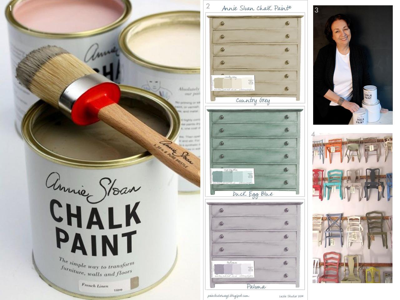 Chalk paint Las pinturas a la tiza ms chulas y fciles