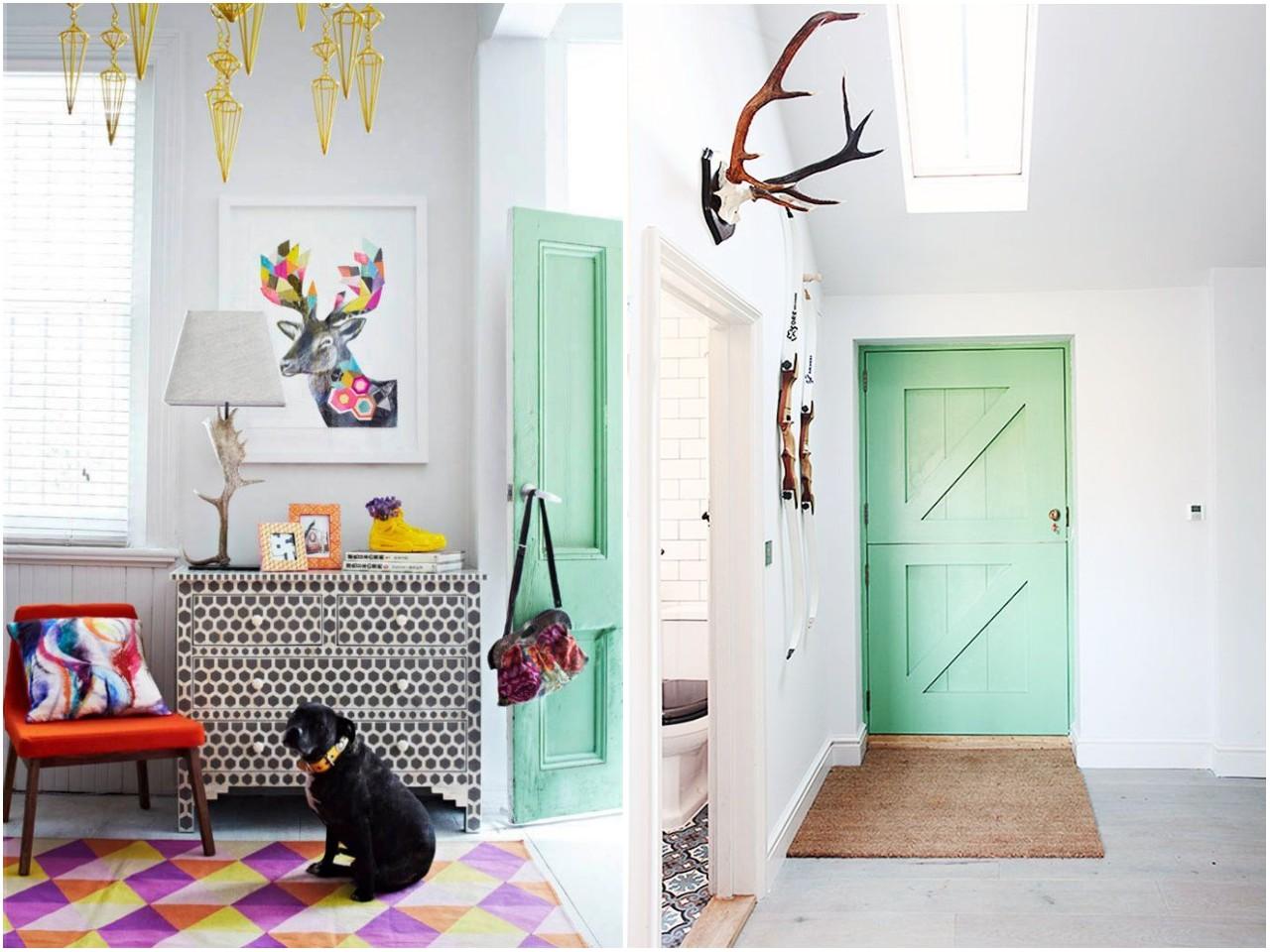 Cmo pintar las puertas de casa ideas e inspiracin