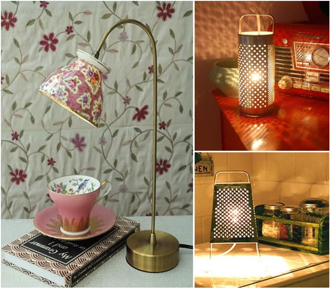 10 Ideas originales de reciclar para decorar con lmparas
