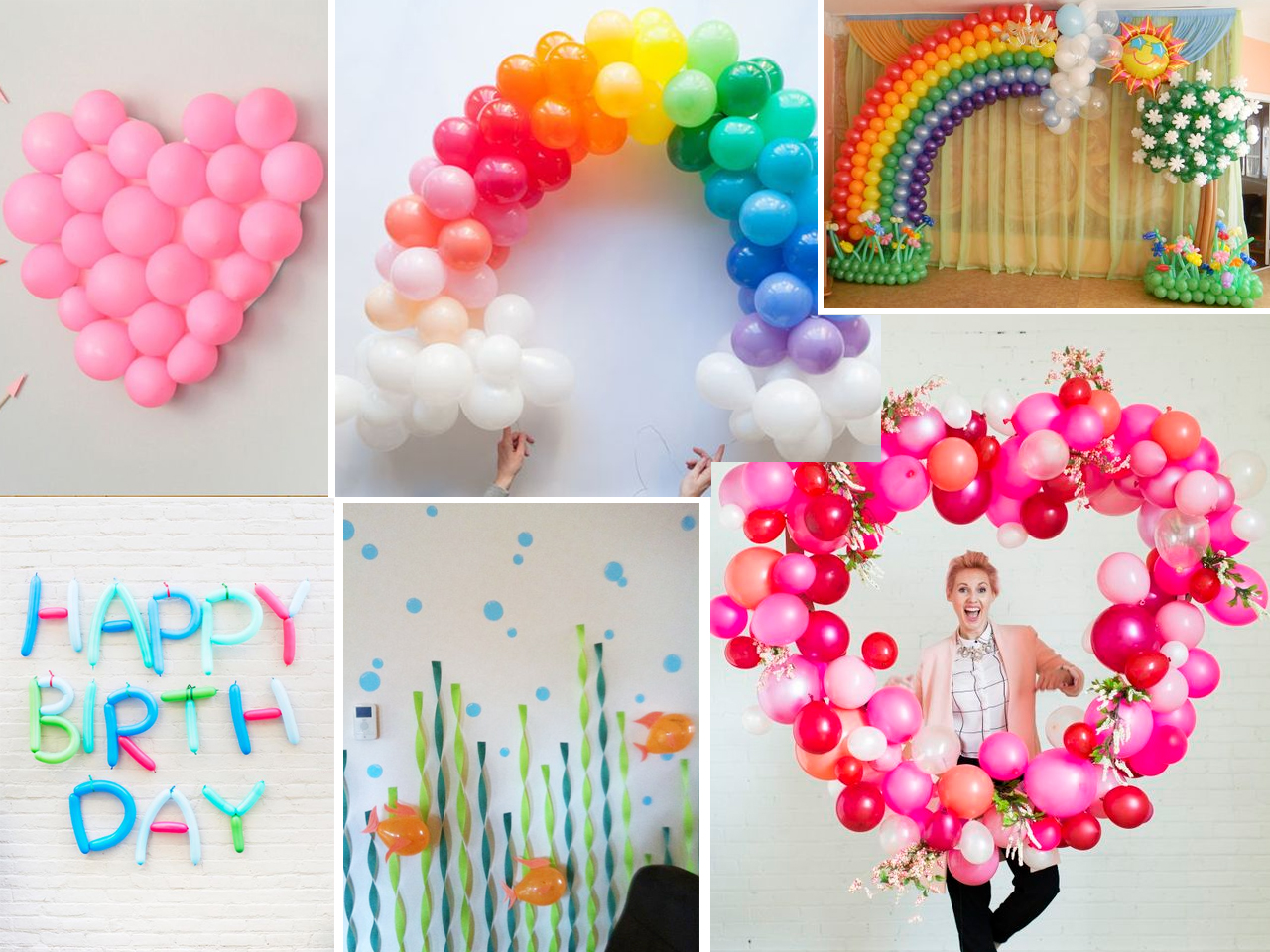 Descubre cmo decorar con globos con estas fantsticas ideas