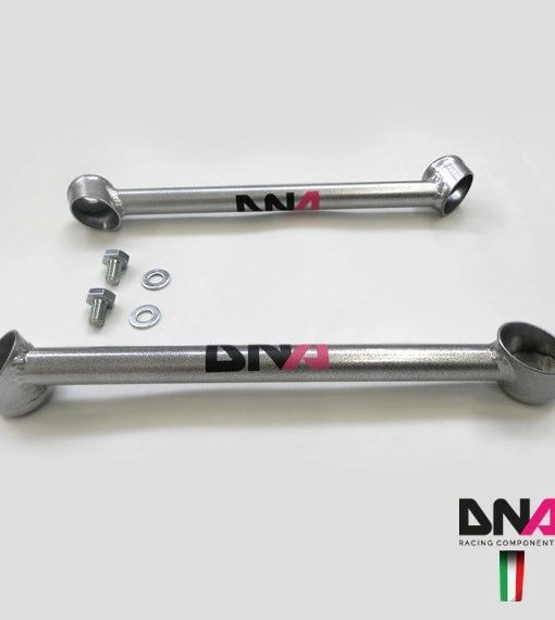 dna racing front lateral tie rod kit fiat abarth 500