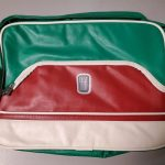 Vintage Fiat 500 Tri-Color Computer Bag