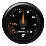 Innovate Motorsports MTX-A: 30 PSI Vacuum/Boost Gauge (Analog)