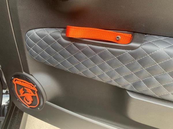 Biposto Door Pull Fiat Abarth 500 Orange