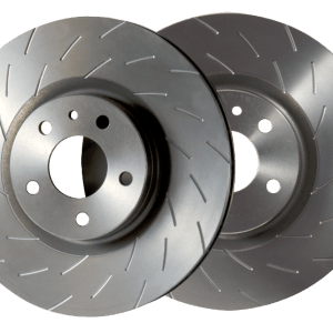 DICorse Front Rotors w/radial grooves