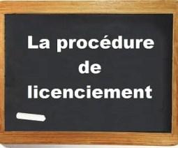 procédure licenciement