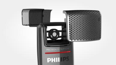 Filtre anti-bruit intégré pour une qualité d'enregistrement optimale