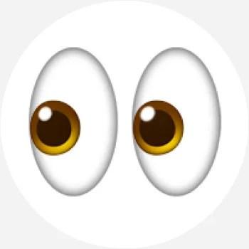 atw eyes emoji what