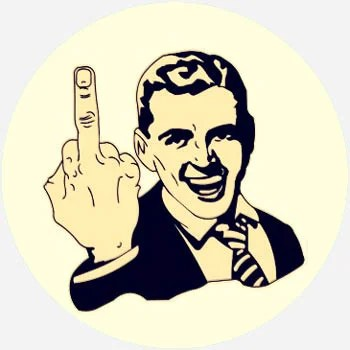 What Does middle finger Mean  Slang by Dictionarycom