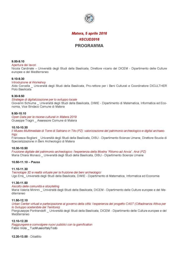 #SCUD_Matera_Unibas_5 aprile_Pagina_2