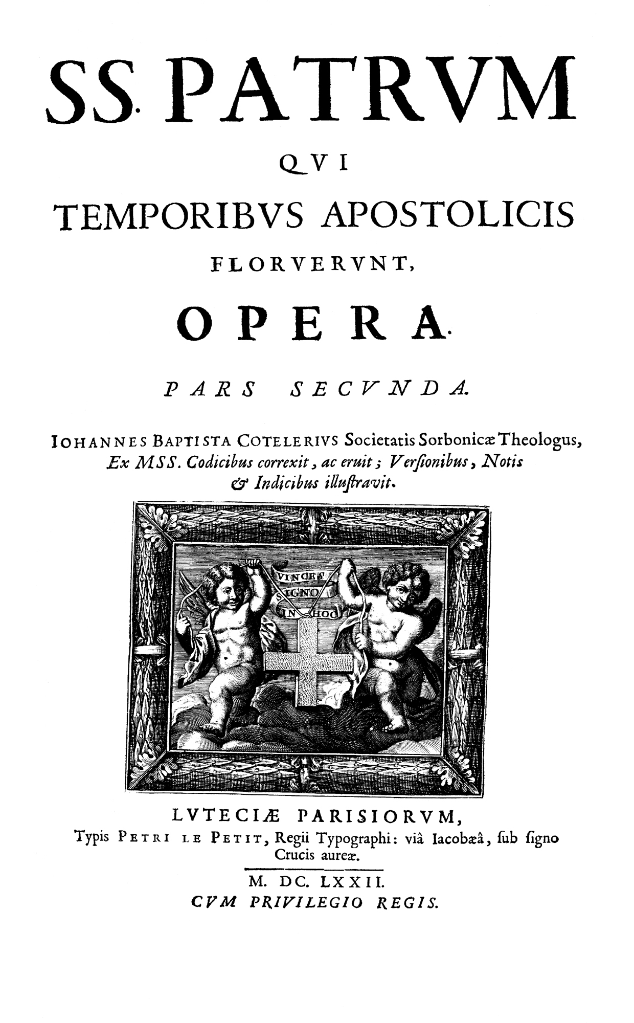 First Edition of the Apostolic Fathers