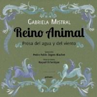 libro poesía Reino animal prosa del agua y el viento