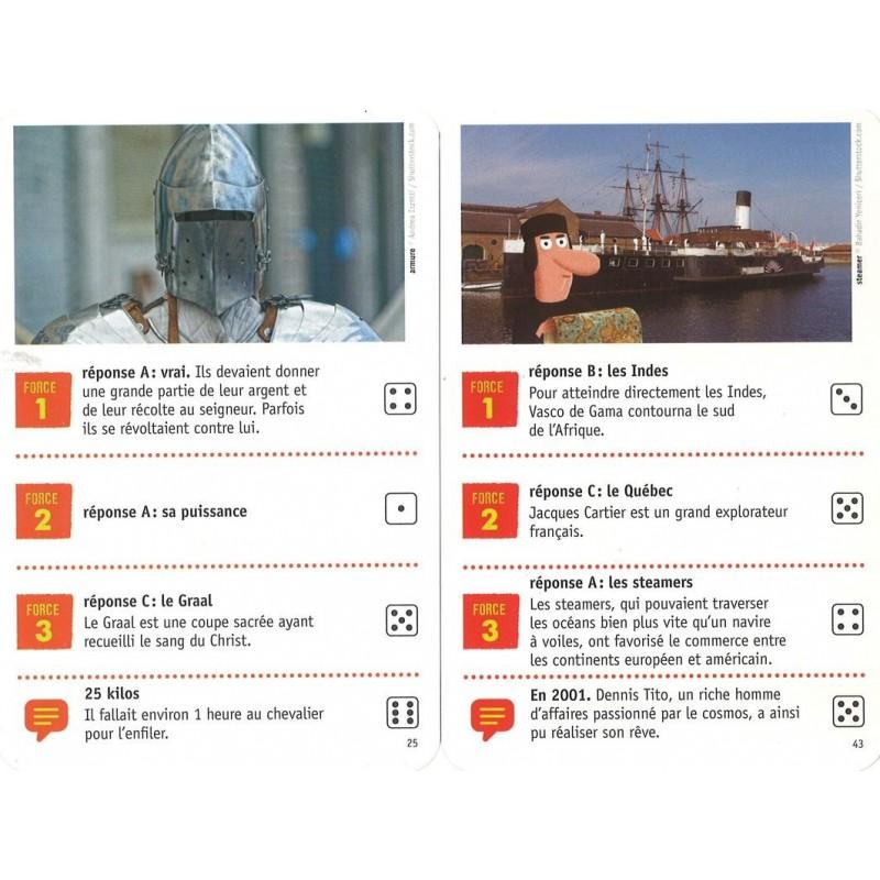 Questions Rponses  Histoire  jeu de cartes ducatif Nathan