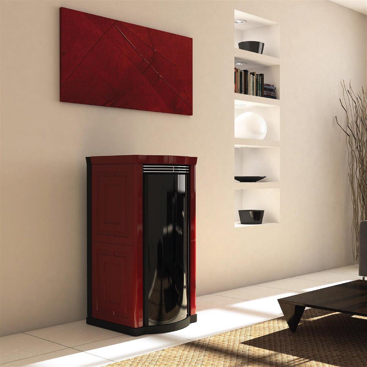 Acquista online in modo facile e. Turbo Top All Style 30 Kw Termostufe A Pellet Moretti Design