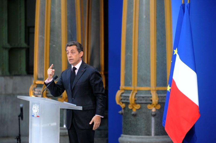 Nicolas Sarkozy, conférence de presse