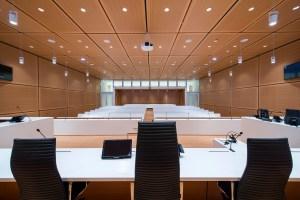 Nouvelle salle audience Tribunal de Paris