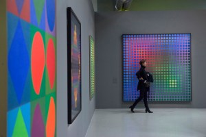 exposition VASARELY 2019 Centre Pompidou