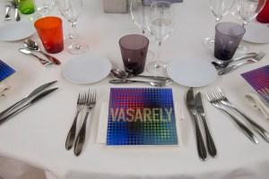 dîner gala Vasarely