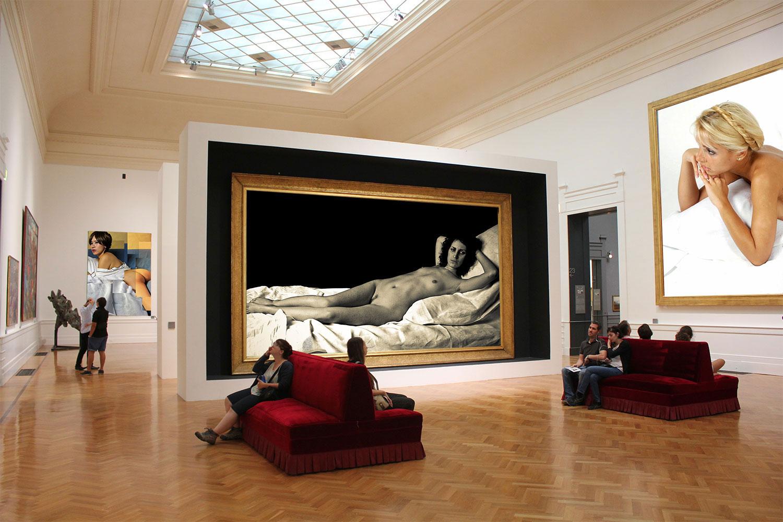 """""""Le nu dans la peinture"""" à la Galerie nationale d'art moderne et contemporain de Rome"""