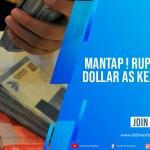 Mantap! Rupiah Tekan Dolar AS ke Rp 14.730