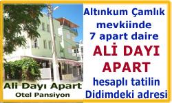 hesaplı tatil Ali Dayı Apart