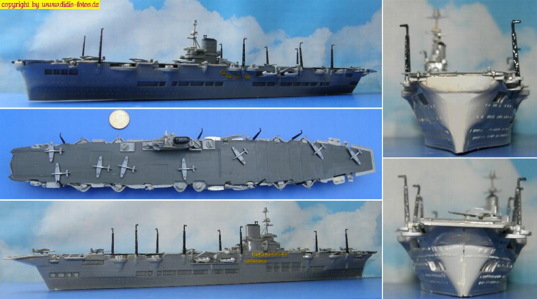 """H.M.S. """"Ark Royal"""" (Revell 5038)"""