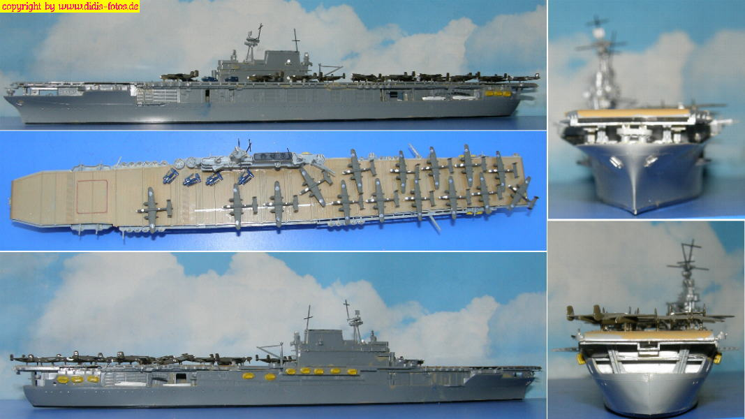 "CV-8 USS ""Hornet"" der Yorktown-Klasse (Tamiya A110)"