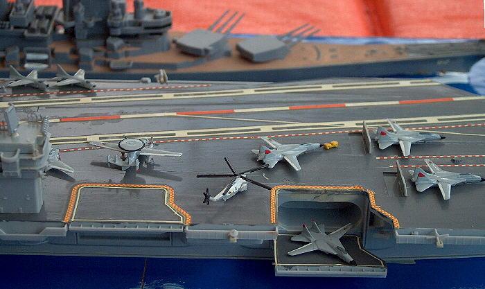 """US-Flotte Details der """"Nimitz"""" 1:700"""