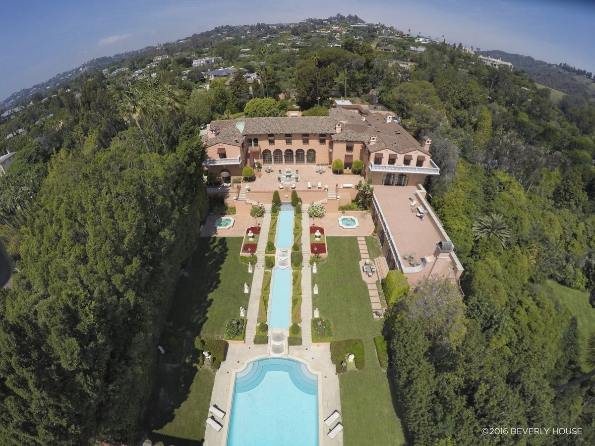 Beverly Hills home of William Randolph Hearst