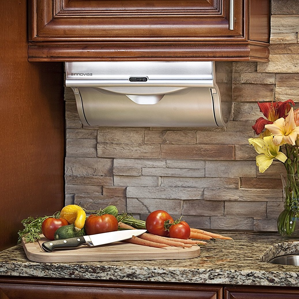 automatic paper towel dispenser for kitchen black hutch didn 39t know i wanted that