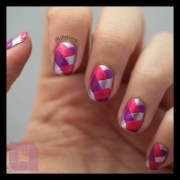 sunday nail battle - braided