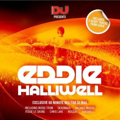 Dj Mag UK issue 500 mix cd by Eddie Halliwell