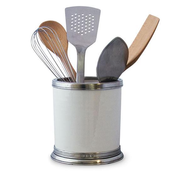 kitchen tool holder non slip shoes match pewter convivio utensil
