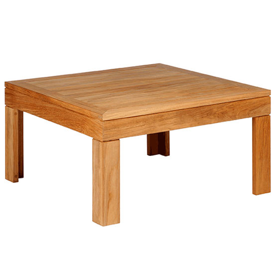 linear 30 inch square low coffee table barlow tyrie