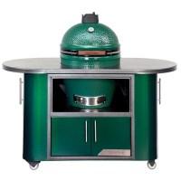 "Big green Egg Chef Cooking Island 60"" w/ wheels (60""L ..."